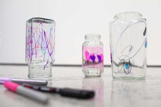 Make Glass art
